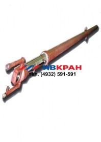 Гидроцилиндр выдвижения секции стрелы, ЦГ-125, КС-45722, автокран, ивкран, ивановец